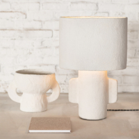 Lamp papier mache
