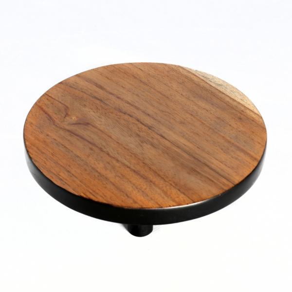 Plateau hout en zwart large